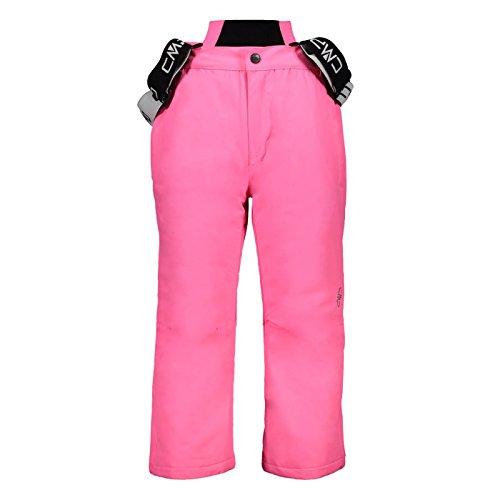 Skihose Tjorven Kinder CMP Pink Fluo Nero Gr-140