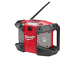 Milwaukee C12 JSR 0 Compact Jobsite Radio 240 V 12 V Li-ion milc12jsr0 Unit