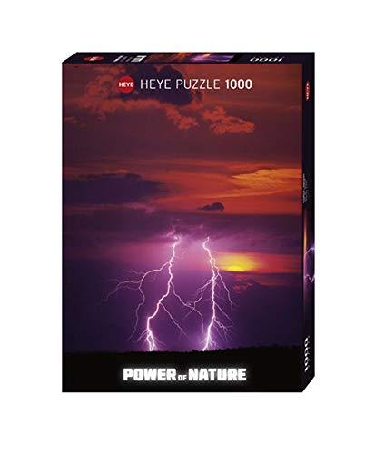 Heye- Puzzle Doppio Fulmine, 1000 Pezzi, Multicolore, 29548