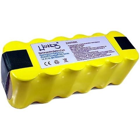 Batería para robot aspirador iRobot Roomba 3500 mAh de Hannets®