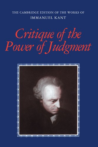 Critique of the Power of Judgment Paperback (The Cambridge Edition of the Works of Immanuel Kant)