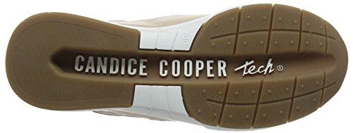 Candice Cooper Nappa, Sneaker Donna Beige (Nude)