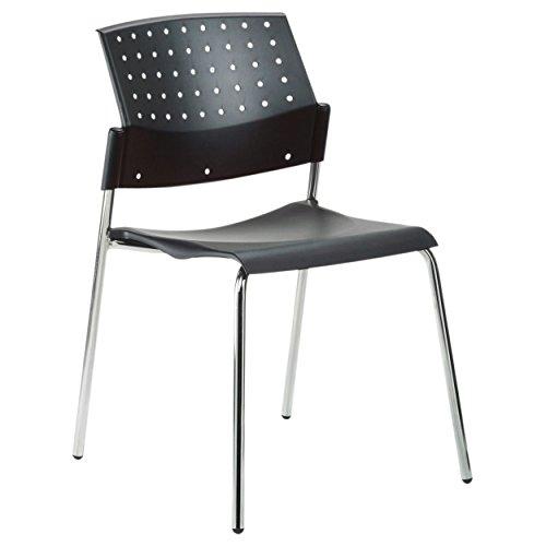 Produktabbildung von Stapelstuhl, Besucherstuhl aus Holz, Konferenzstuhl, Bürostuhl, Wartezimmerstuhl