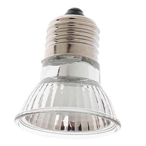 Baoblaze E27 Wärmelampe Tageslichtlampe Wärmestrahler UVA UVB Licht für Schildkröte, Schlangen, Eidechsen, Spinnen, Frösche usw. - 50W