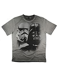 Men's Star Wars Stormtrooper Darth Vader T-Shirt Top