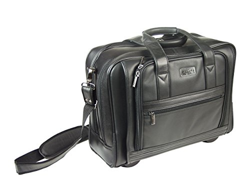 Moovie Roncato BORSA TROLLEY PORTA PC 48 ore in pelle