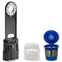 Replacement Keurig Water Filter Starter Kit with 2 Water Filters and K-Cup Coffee Filter