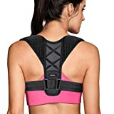 Купить Posture Corrector, Gritin High Elastic Adjustable Posture Correction Back Brace for Women and Men- Super Comfortable and Convenient for Neck, Shoulder and Upper Back Pain Relief and Posture Trainer