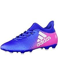 adidas X 16.3 FG - Botas de fútbol para Hombre, Azul - (AZUL/FTWBLA/ROSIMP) 39 1/3