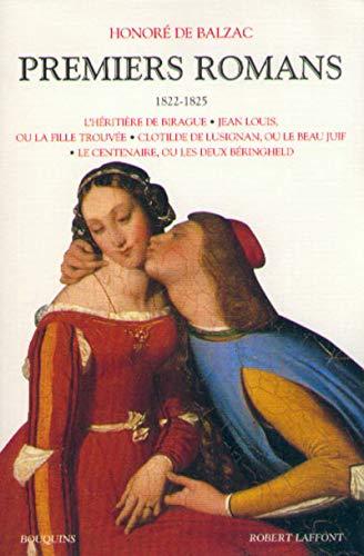 Premiers romans, tome 1 : 1822-1825 par Honoré de Balzac, André Lorant