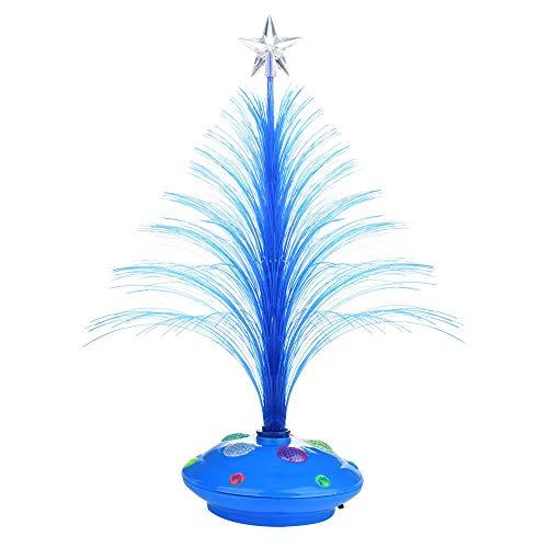 LILICAT Joyeux LED Couleur Changeante Mini De Noël Arbre De Noël Maison Table Décoration De Fête Charme Décoration