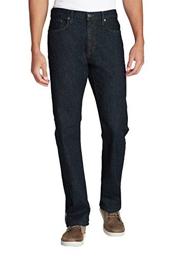 Eddie Bauer Herren Flex Jeans - Straight Fit Deep Rinse