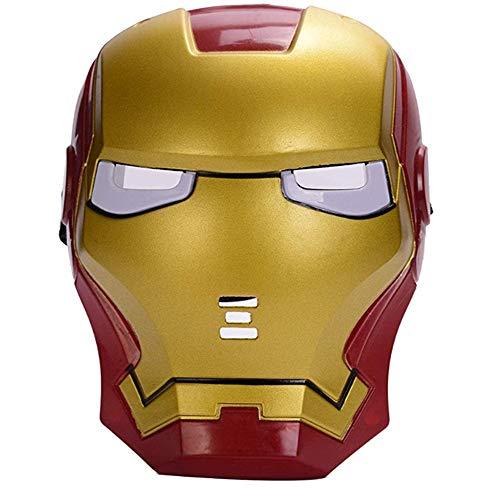 morningsilkwig Marvel Avengers máscara Iron Man máscara Brillante Traje luz Ojo máscara Super héroe Ironman Partido Cosplay máscara para Fiestas de Halloween