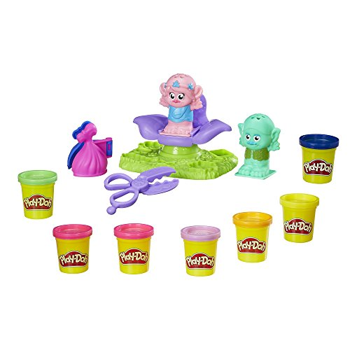 Play-Doh Dreamworks Trolls Press 'n Style Salon Version Anglaise
