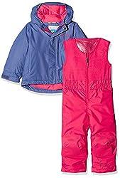Columbia Kids Buga Set, Evepunch Pink, Size 2t