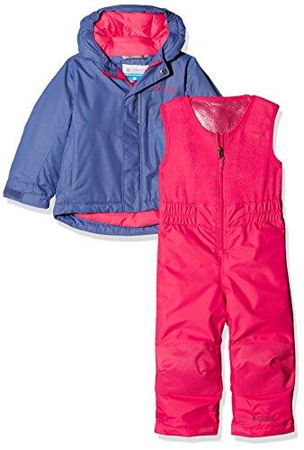Columbia buga, tuta e pantalone unisex – adulto, porpora/rosa, 3t