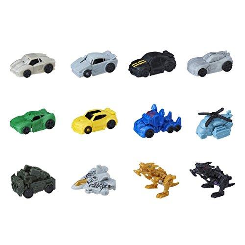 Transformers The Last Knight Tiny Turbo Changers Serie 1 - Bolsa con Coche de Juguete
