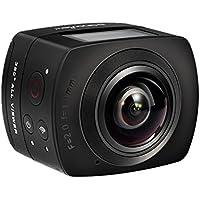 sansnail Panorama 360VR Video Camera Full HD 1440P 1080P 30FPS 8MP azione telecamera IP 220Fisheye Obiettivo grandangolare Dome Supporto WIFI sistema di giroscopio realtà virtuale Split Up-Down Flip display regalo custodia impermeabile