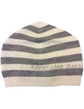 ARMANI JEANS Mütze aus Wolle Weiß / grau B5426 S6 1R