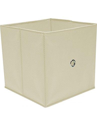 Boite de rangement - Cube de Rangement Blanc 32 x 32 x 32 cm