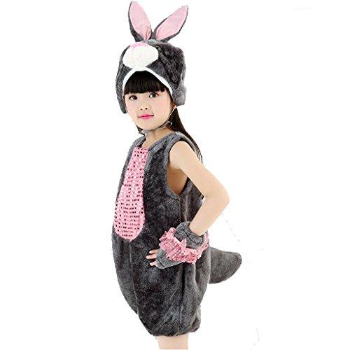 indertanz Tanz Kleidung Leistung Kostüme Klassische Jungen Mädchen Tragen Kinder Bühnenschüler Gruppen Team 20# S (Black Cat-zubehör Für Kostüm)