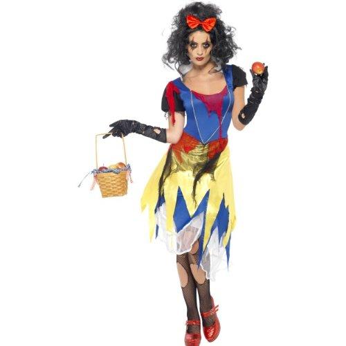 Halloween Damen Kostüm böses Schneewittchen zu Karneval Größe S (Das Böse Schneewittchen Kostüme)