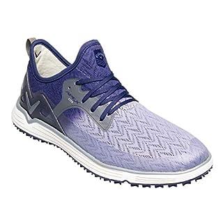 Callaway Men's Apex Lite Lightweight Spikeless Golf Shoes, Silver/Navy), 11 (46 EU)