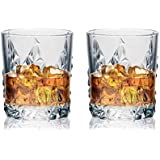 Soogo Jordon Whisky Glass Set, 2-Piece, Transparent