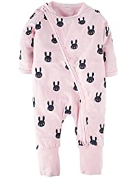 29c737ddcca8 Amazon.co.uk  Pink - Rompers   Bodysuits   One-Pieces  Clothing