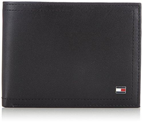 Tommy Hilfiger HARRY BM56927558 Herren Geldbörsen 13x9x2 cm (B x H x T) Schwarz (BLACK 990)