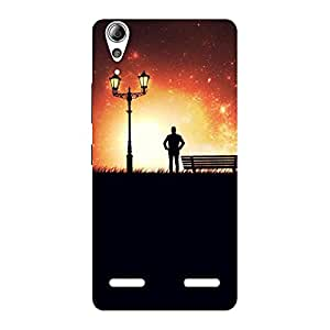 Enticing Evening Multicolor Back Case Cover for Lenovo A6000 Plus