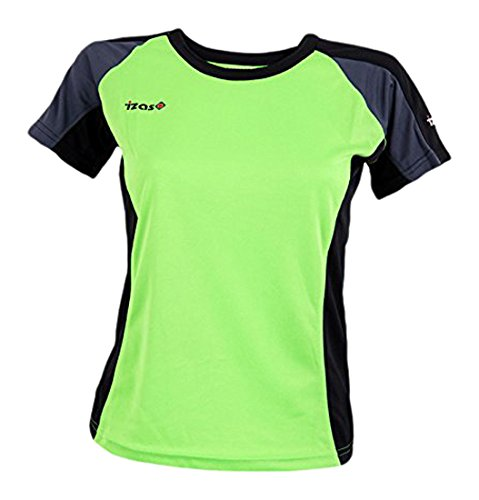 Izas Aosta - Camiseta para mujer, multicolor, talla L