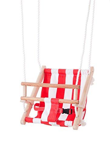 Beluga Spielwaren 70205 - TWIPSOLINO Babyschaukel, Rot/ Weiß