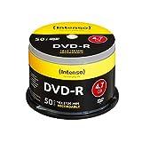 Intenso DVD-R 16x Speed 50er Spindel DVD-Rohlinge
