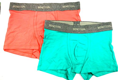 United Colors Of Benetton Men's Cotton Trunk Assorted