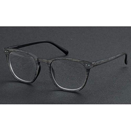 ZTM Reading Glasses Lesebrille, Übergang photochrome Progressive Multi-Fokus-Sonnenbrille, Strahlenschutz, UV-Schutz, Farbwechsel im Freien für Herren/Damen,Gray,3.25