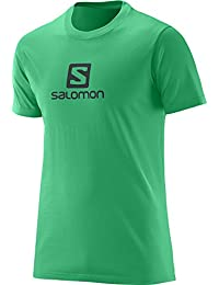 Salomon SS Logo Cotton 100-percent-cotton-rib-knit T-Shirt, Men's
