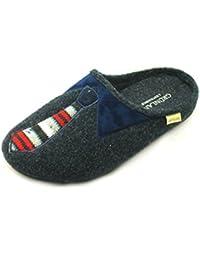 Grünland Gafo CI0964 zapatillas de tela azul Hombre 45 zXGychrV1G