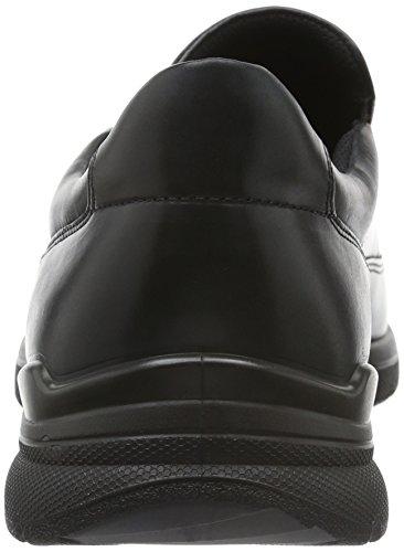 Ecco Irving, Chaussures À Lacets Noires Pour Hommes (2001 Noir)