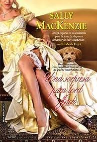 Una sorpresa para lord Jack par Sally MacKenzie