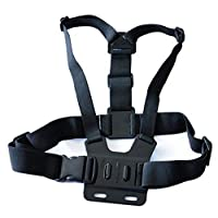 Action Camera Adjustable GoPro Chest Mount Harness,Chesty Strap For GoPro HD Hero, Hero2, Hero3
