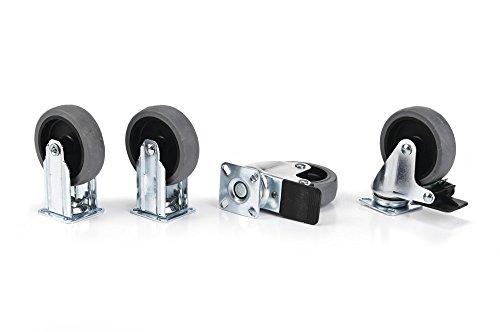 Stefanplast  Rädersatz für GULLIVER IATA Transportboxen 84584-84587