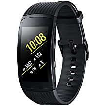 Samsung Gear Fit 2 Pro - Pulsera de Fitness de 1.5'' (4 GB, 1 GHz, 0.5 GB RAM, Tizen), resistente al agua, color negro