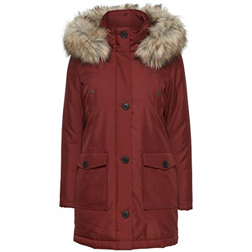 Parka Donna Only L Bordeaux 15128900/onlfree Autunno Inverno 2016/17