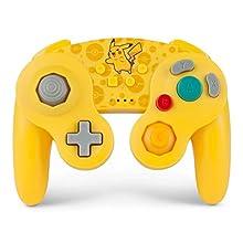 PowerA Pokemon Wireless Officially Licensed GameCube Style Controller/Super Smash Bros. Pikachu