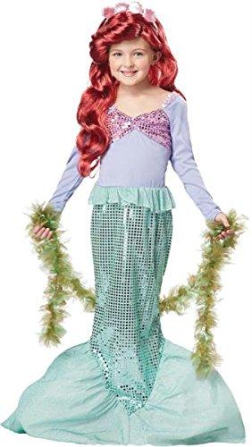 Little Mermaid Child Med 8-10 (Little Mermaid Kostüme Spielen)
