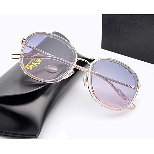 BJYG Sport-Sonnenbrille Lady Cat Eye Polarisierte Sonnenbrille Rechteckige Sonnenbrille Fahren Laufen, Reiten, Angeln Sonnenbrille (Farbe: Pink)
