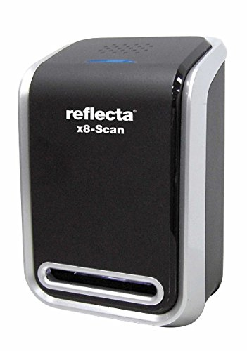 Reflecta x8-Scan Film/Slide Scanner 1800 x 1800DPI Negro - Escáner (24,3 x 36,5 mm, 1800 x 1800 dpi, 24 bit, Film/Slide Scanner, Negro, CMOS)