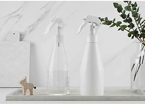Bobopai 1pc 200ml Fine Air Mist Spray Bottle, Portable Manual Garden Plant Hand Trigger Water Sprayer Plastic Spray Bottle, Plastic Trigger Spray Bottle Flower (1PC-200mL) -