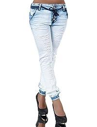 FASHION BOUTIK jean baggy bleu clair délavé femme sexy casual 34 36 38 40 2 61fac4cb8532